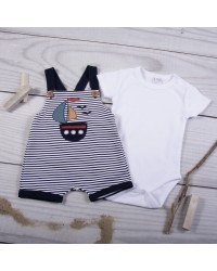 set with dungarees